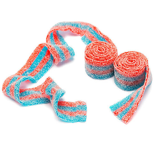 Blue Raspberry Belts - 80g from Berry Bon Bon theberrybonbon.com.au