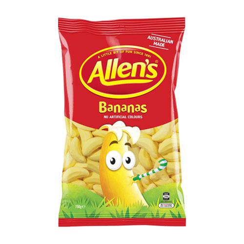 Allen's Bananas - 100g from Berry Bon Bon theberrybonbon.com.au
