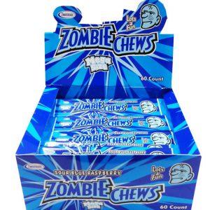 Zombie Chews (blue raspberry) - 28g from Berry Bon Bon theberrybonbon.com.au