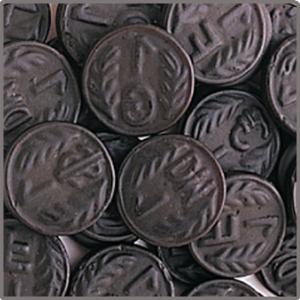 Dutch Coins Mild Salt - 100g from Berry Bon Bon theberrybonbon.com.au