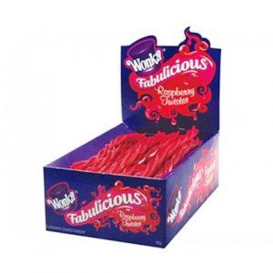 Wonka Fabulicious Raspberry Twist 1kg - 1kg from Berry Bon Bon theberrybonbon.com.au