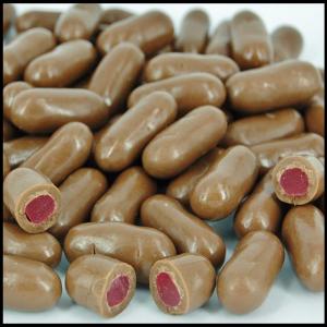 Milk Chocolate Raspberry Bullets - 100g from Berry Bon Bon theberrybonbon.com.au