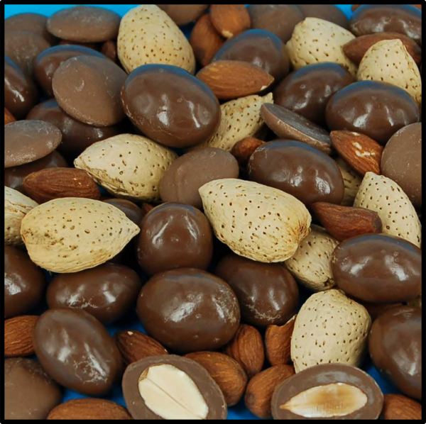 Milk Chocolate Almonds - 100g from Berry Bon Bon theberrybonbon.com.au