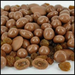 Milk Chocolate Sultanas - 100g from Berry Bon Bon theberrybonbon.com.au