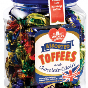 Walkers Toffee Tubs - Assorted - 450g from Berry Bon Bon theberrybonbon.com.au