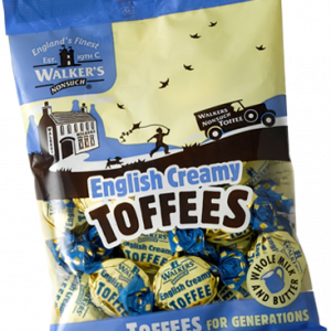 Walkers Toffees Bags - English Creamy Toffees - 150g from Berry Bon Bon theberrybonbon.com.au