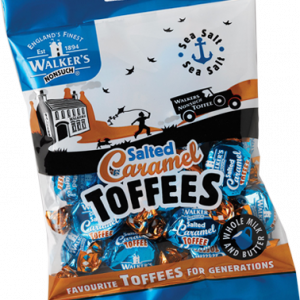 Walkers Toffees Bags - Salted Caramel - 150g from Berry Bon Bon theberrybonbon.com.au