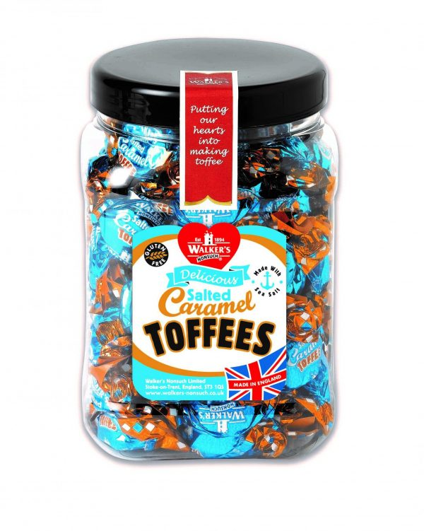 Walkers Toffee Tubs - Salted Caramel - 450g from Berry Bon Bon theberrybonbon.com.au