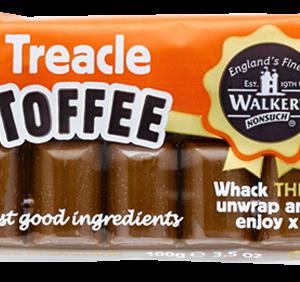 Walkers Toffee Blocks  - Treacle - 100g from Berry Bon Bon theberrybonbon.com.au