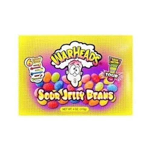 Warheads Jelly Beans - 113g from Berry Bon Bon theberrybonbon.com.au