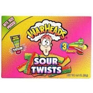 Warheads Sour Twists - 99g from Berry Bon Bon theberrybonbon.com.au