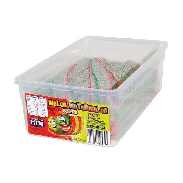 Watermelon Belts - 80g from Berry Bon Bon theberrybonbon.com.au