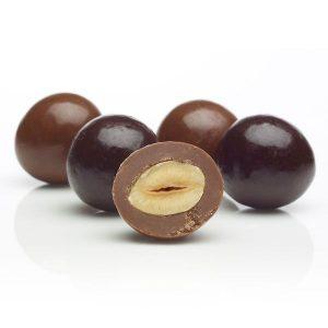 Dark Chocolate Hazelnuts - 100g from Berry Bon Bon theberrybonbon.com.au
