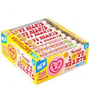 Love Heart rolls - 39g from Berry Bon Bon theberrybonbon.com.au