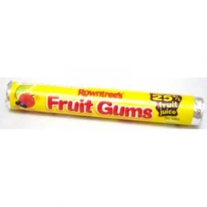 Rowntree Fruit Gums - 43.5g from Berry Bon Bon theberrybonbon.com.au