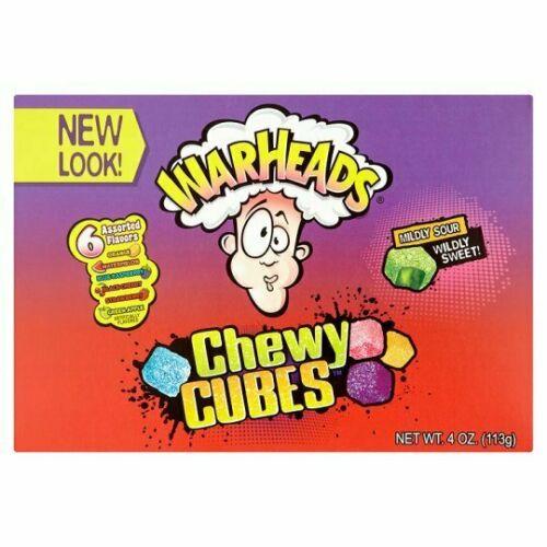 Warheads Cubes - 113g from Berry Bon Bon theberrybonbon.com.au