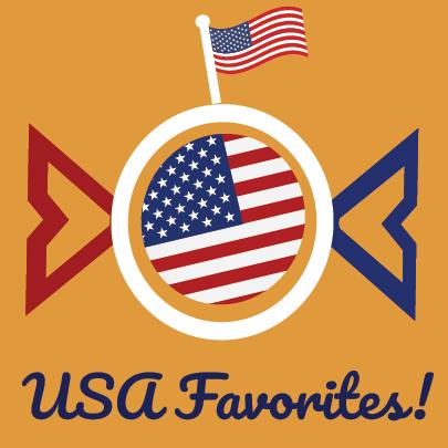 USA Favorites from Berry Bon Bon